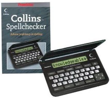 Franklin SPQ109 Collins Pocket Speller Spell Checker Crossword Solver SPQ-109