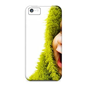 Hot Tpu Cover Case For Iphone/ 5c Case Cover Skin - Little Cute Baby