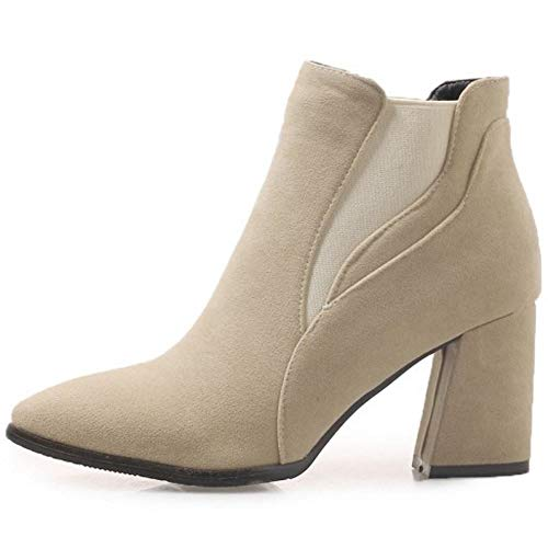 Women Coolcept On Boots Beige Ankle Pull Fashion dx8pq67B
