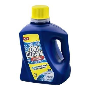 Amazon.com: Oxi Clean líquido detergente de lavandería, 74 ...