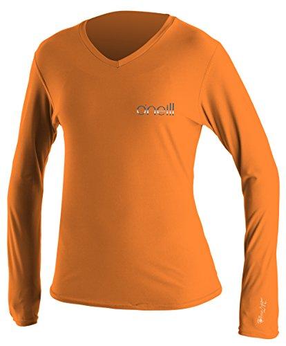 Oneill wetsuits uv sun protection womens 24 7 tech long for Uv long sleeve shirt womens