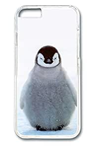 VUTTOO iPhone 6 plus Case, 6 plus Case - Crystal Clear Ultra Thin Hard Back Case Cover for iPhone 6 plus Chubby Baby Penguin Scratch Resistant Clear Hard Case for iPhone 6 plus 5.5 Inches by Maris's Diaryby Maris's Diary