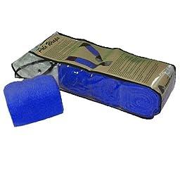 Intrepid International Full Horse Polo Wrap Set, Blue