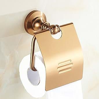 Baño papel higiénico toalla pared tipo rollo de aluminio espacio de rack toalla de papel toalla de papel accesorio de cilindro de papel higiénico caja: ...