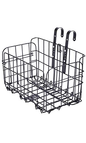 ZDS Detachable Folding Bicycle Basket Heavy Load
