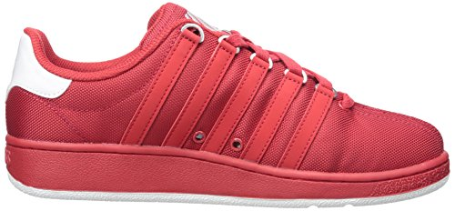 K-Swiss Mens Classic VN T Fashion Sneaker Red/White iQtkdbK6