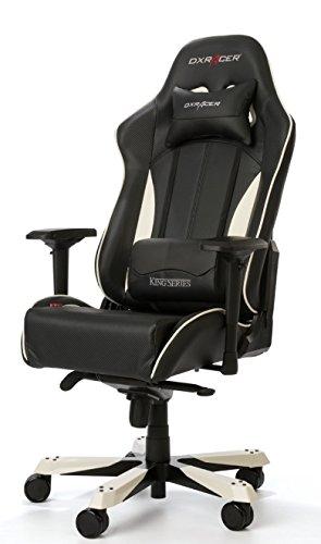 DXRacer OH / KF57 / NW portátil Silla Gaming Negro/Blanco