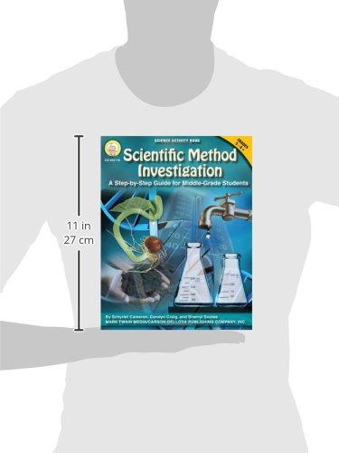 Scientific Method Investigation: A Step-by-Step Guide for Middle-School Students (Science Activity Books) by Mark Twain (Image #1)