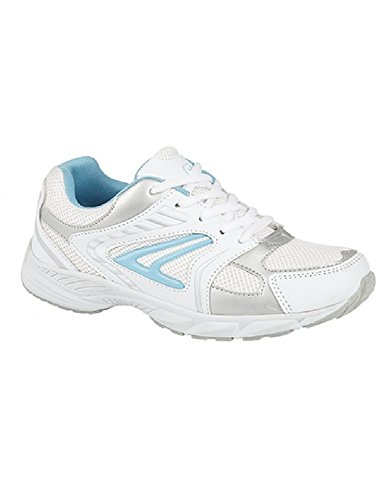 Dek , Damen Sneaker Weiß/Blau