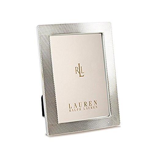 Lauren Ralph Lauren Chain Bracelet Design 5'' X 7'' Picture Frame Silver Color by RALPH LAUREN