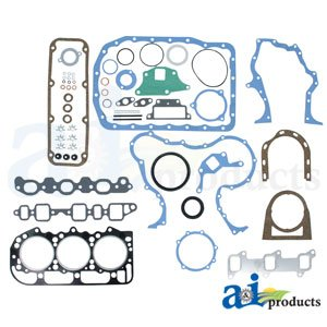 A&I Products Gasket Set, Overhaul w/ Seals(All 3 Cyl Gas & 201 DSL) Replace...