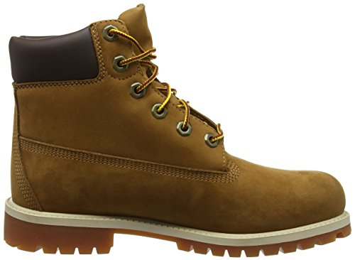Timberland 6 in Classic FTC_6 in Premium WP Boot, Stivali Unisex – Bambini Marrone (Braun (Rust Nubuck With Honey))