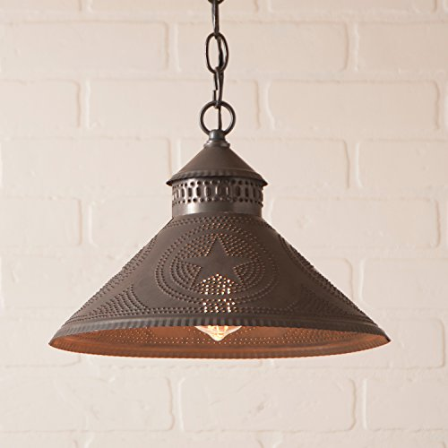 Tin Star Pendant Light in US - 2
