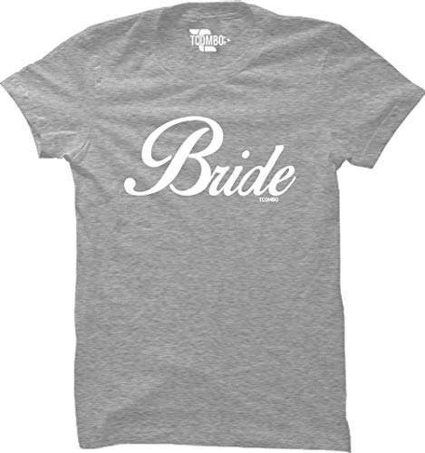 Bride Women's T-Shirt (Light Gray, Medium)