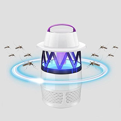 Ghome5 USB Electric Anti Mosquito Killer Lamp LED Mosquito Repeller Pest Repeller Moth Fly Wasp Bug Zapper Trap Lamp Insect Catcher