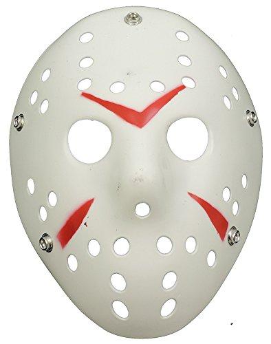 Scary Horror Movie Hockey Goalie Halloween Mask