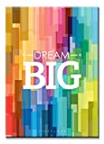 SEVEN WALL ARTS- Motivational and Inspirational Big Dream Posters Giclee Print on Canvas Perfect for Office or Kids Room Decor Best for Home Decor 16 x 24 inch