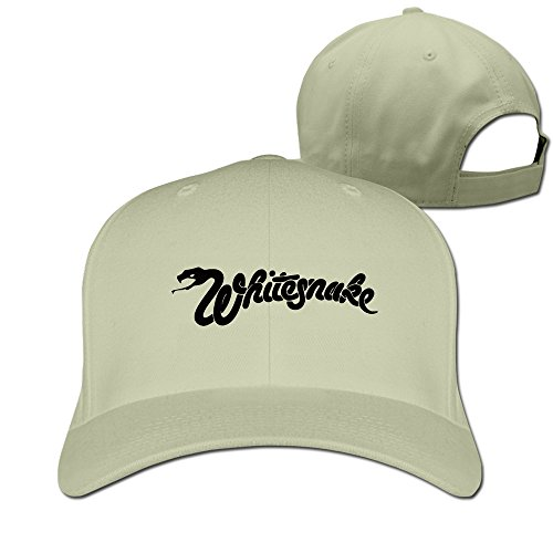 Whitesnake Logo Natural Casquette Cap One - Brown Orle