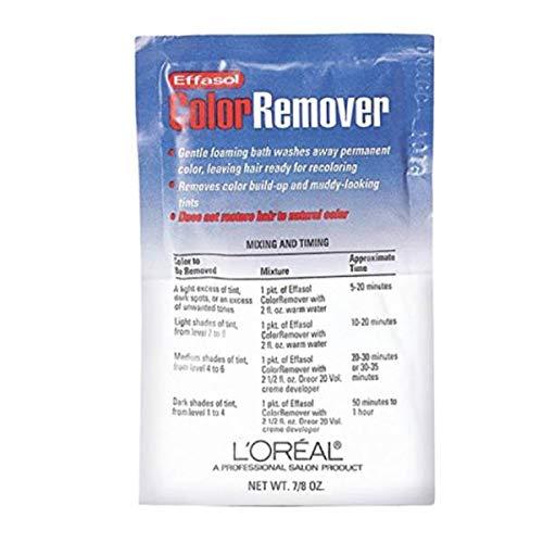 L'Oreal Paris Effasol Color Remover oz22.11g Quantity Application by, 0.86 Ounce