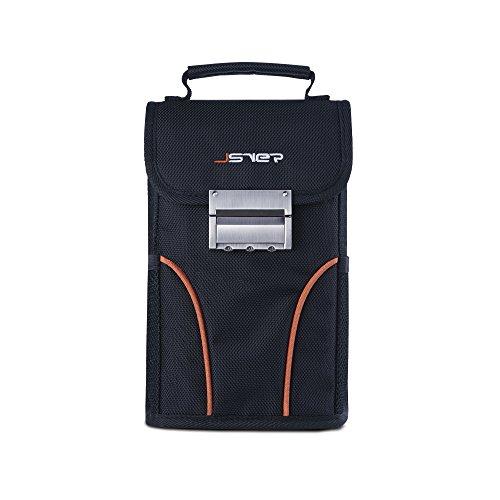 JSVER Portable Anti-Theft Lock Bag Secure For Phone, ID, Money Travel Vault