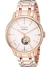 Men's Mulberry Swiss Automatic Watch with Rose Gold Tone Strap, 20 (Model: 9602B)