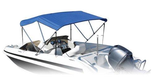Summerset BiminiボートTop B004V3PEYO 72x79-84x46-Inch|ネイビー ネイビー 72x79-84x46-Inch