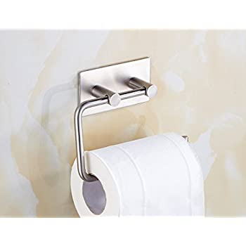 Amazon.com: Spare Toilet Paper Holder Attaches Inside Bathroom ...