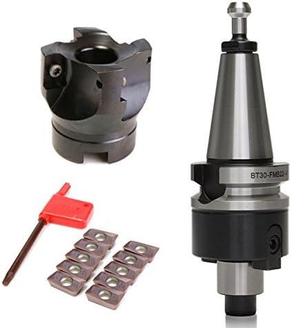 Face Mill End Milling Cutter BT30-FMB22-45+BAP400R-50-22-4F+APMT1604 Inserts TU