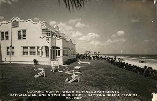 (Wilshire Pines Apartments Daytona Beach, Florida Original Vintage Postcard)