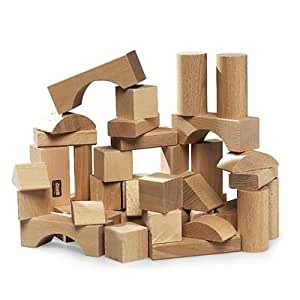 Brio 30153000  - Bloques de madera, 50 piezas