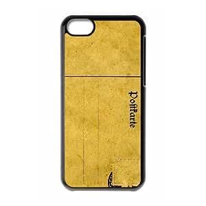 iPhone 5C Phone Cases Black Vintage Postcard FNR735184