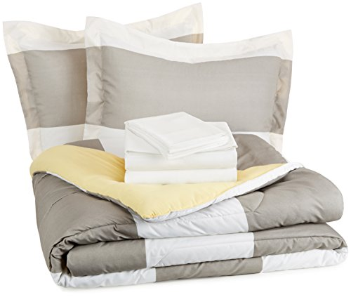 AmazonBasics 7 Piece Bed Bag Reversible
