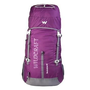 Wildcraft Rucksack For Trekking Rock Ice 55l Purple Amazon In
