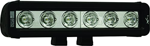 "Vision X XIL-LPP610 Xmitter Low Profile Prime Black 9"" 3W Six 10 Degree Narrow Beam LED Bar"
