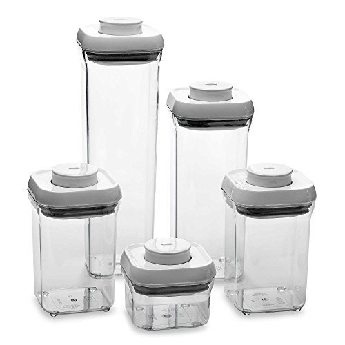 Oxo Good Grips 5-Piece Food Storage Pop Container Set by OXO