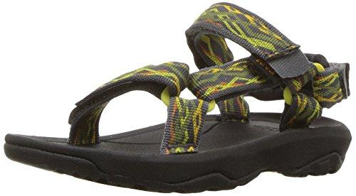 Teva Boys' T Hurricane XLT 2 Sport Sandal, Delmar Dark Shadow, 5 M US Toddler (Shadow Apparel Dark)