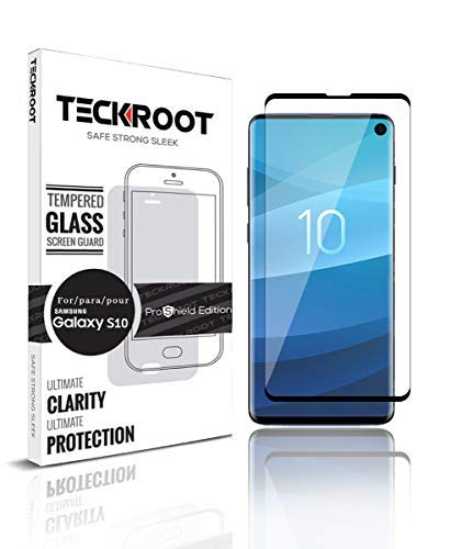 TeckRoot Galaxy S10 Screen Protector | Tempered...