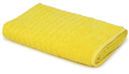100-Percent Ring Spun USA Cotton Bathroom Hand Towel (Citrus Yellow)