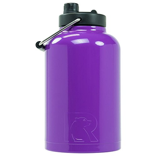 RTIC One Gallon Vacuum Insulated Jug, Purple