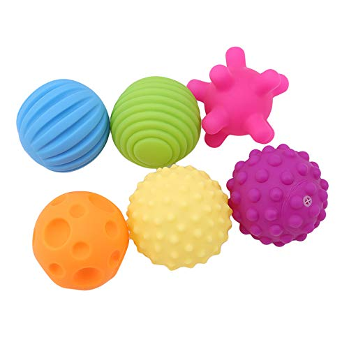 憧れの GonPi おもちゃボール 6個セット 赤ちゃんのおもちゃボールセット マッサージ 赤ちゃんの触覚を育むおもちゃ 赤ちゃんの手触り ボールのおもちゃ 赤ちゃんのトレーニングボール B07NZPCH67 6個セット マッサージ ソフトボール B07NZPCH67, ALL TIRE STORE AIRIN:c125d20d --- fenixevent.ee