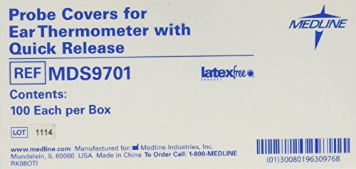 Medline MDS9701 Tympanic Thermometer Covers