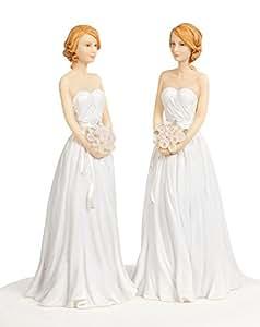 Wedding Collectibles Lesbian Gay Wedding Cake Topper