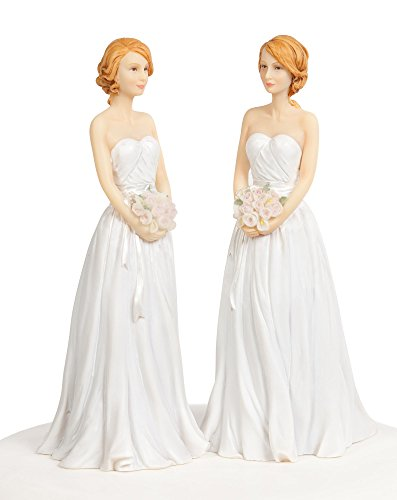 lesbian wedding cake topper and cake toppers for a wedding 5498
