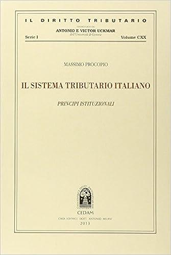 Book Il sistema tributario italiano. Principi istituzionali