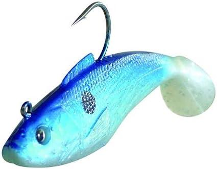"pollack cod 4/"" 25g wreck fishing... Sidewinder Super Shads /""The Cod Squad/"""
