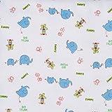 Spasilk Unisex Baby 4 Pack 100% Cotton Flannel