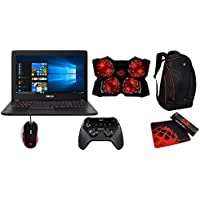 ASUS FX502VM-AS73 with Elite Bundle - 15.6-inch Full HD Gaming Laptop, 7th-Gen Core i7, GTX 1060 3GB 16GB DDR4 RAM, 128GB SSD + 1TB HDD with Windows 10
