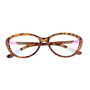 Agstum Womens Cat eye Glasses Frame Optical Eyeglasses Clear lens