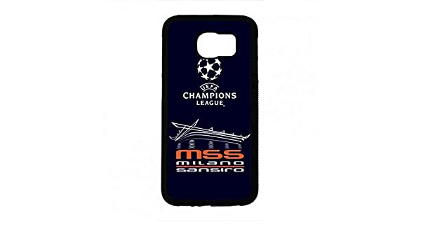 UEFA Champions League Logo Phone Funda For Samsung Galaxy S6 Funda Famous Football Game Logo Phone Funda: Amazon.es: Electrónica