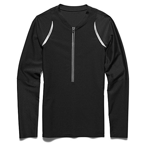 Under Armour ClutchFit 1/2 Zip LS Top - Women's Black / Metallic Silver ()